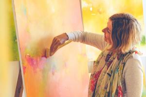 """, """"Ich kann nicht malen"""" als Tor in den kreativen Flow"""