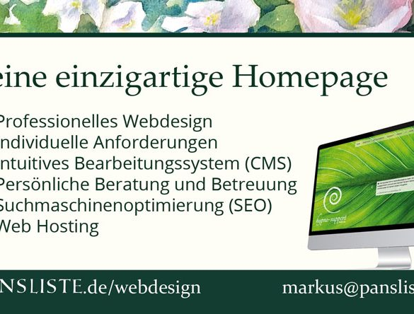 , Pansliste Webdesign, Pansliste